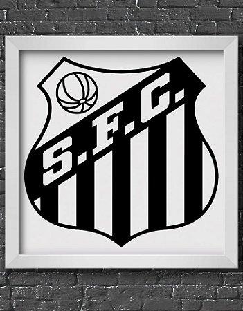 Quadro Decorativo Time: Santos - SFC (Santos Futebol Clube)