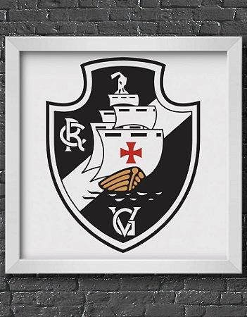 Quadro Decorativo Time: Vasco da Gama - CRVG (Club de Regatas Vasco da Gama)