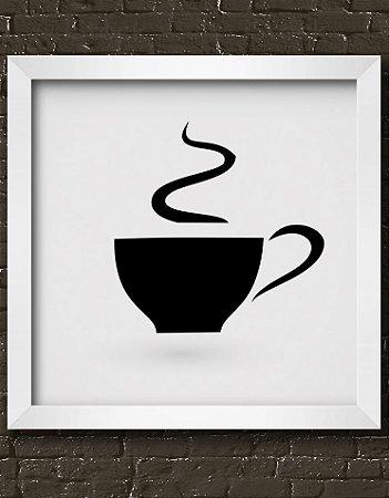 Quadro Decorativo Coffee Cup Icon