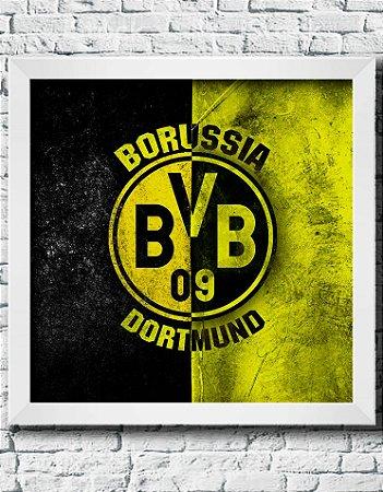 Quadro Decorativo Times de Futebol- Borussia Dortmund
