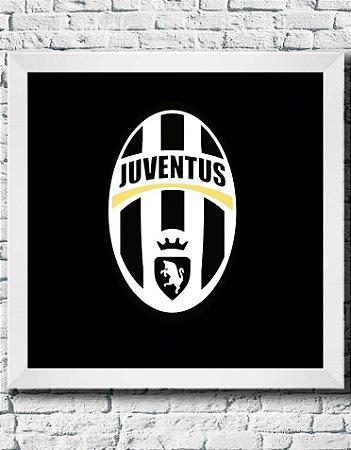 Quadro Decorativo Times de Futebol- Juventus Football Club.