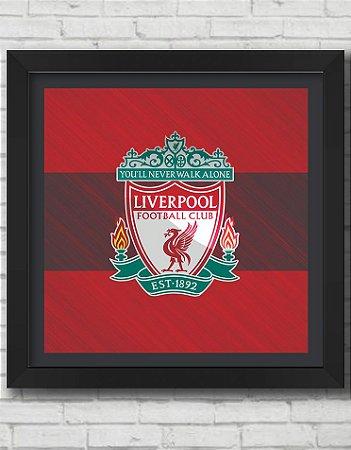Quadro Decorativo Times de Futebol- Liverpool Football Club 2