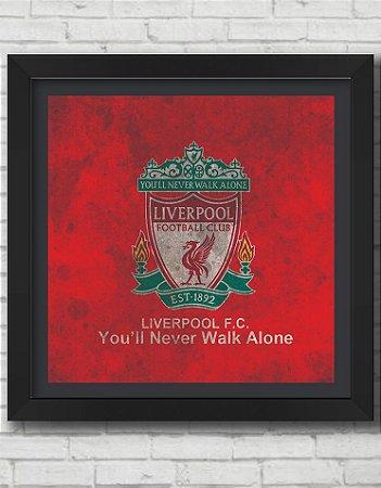 Quadro Decorativo Times de Futebol- Liverpool Football Club 3