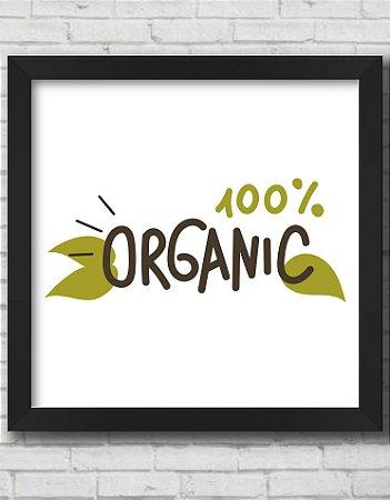 Quadro Decorativo 100% ORGÂNICO