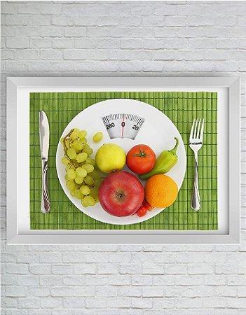 Quadro Decorativo Alimento Saudável