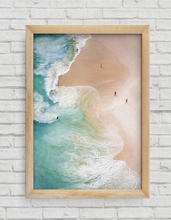 Quadro Decorativo Ondas do Mar