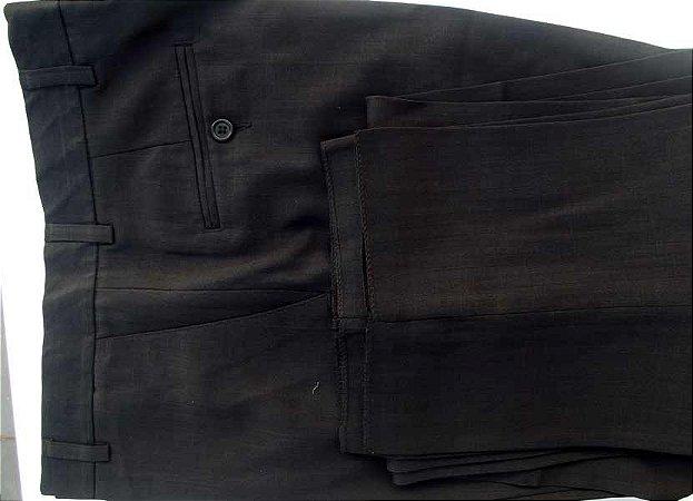 Calça social preta em tecido de gasimira  de ótima qualidade, cód 1385