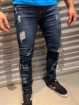 Calça Premium Filho Rico - Destroyed Hard