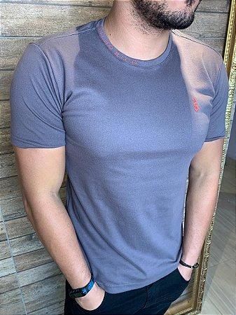 Camiseta Verano Filho Rico - Chumbo