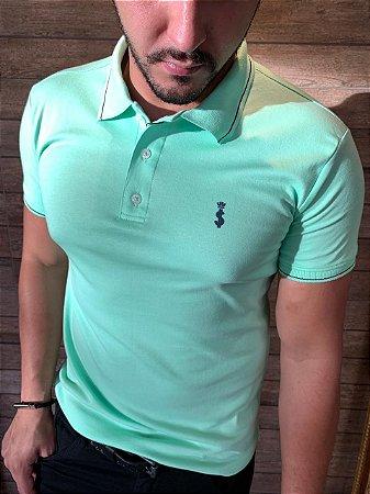 Camiseta Polo Premium Verão 2021- Verde Claro