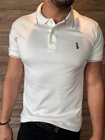 Camiseta Polo Premium Verão 2021- Creme