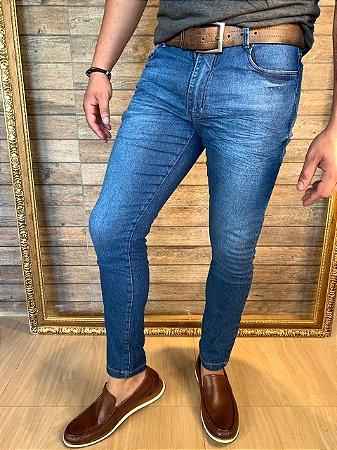 Calça Jeans Corte Italiano Filho Rico Skinny - 3D effect