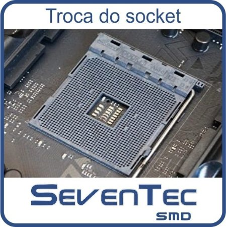 Troca do Socket Asus TUF B450-PLUS GAMING