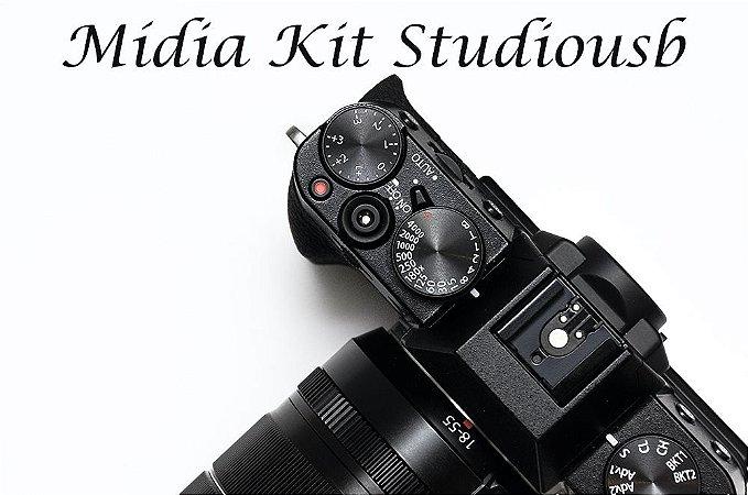Midia Kit StudioUsb - Divulgue sua empresa