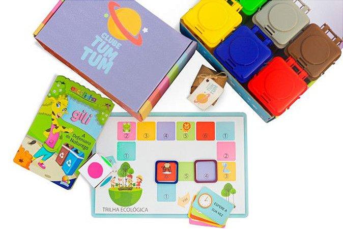 Caixa Urano - Sustentabilidade : brincar e ajudar o planeta