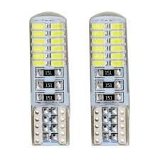 Lâmpada Super Pingo T10 24 Leds silicone- 9w