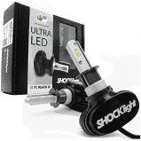 Kit Lampada Ultra Led Titanium Shock Light H1,H3,H7,H8,H11,H27,HB3,HB4 8000 Lumens