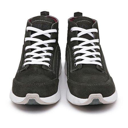 Tênis Casual John Boots em Camurça Cinza