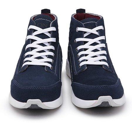 Tênis Casual John Boots em Camurça Azul
