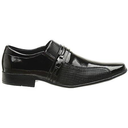 Sapato Social Verniz Sola de Borracha 1041E