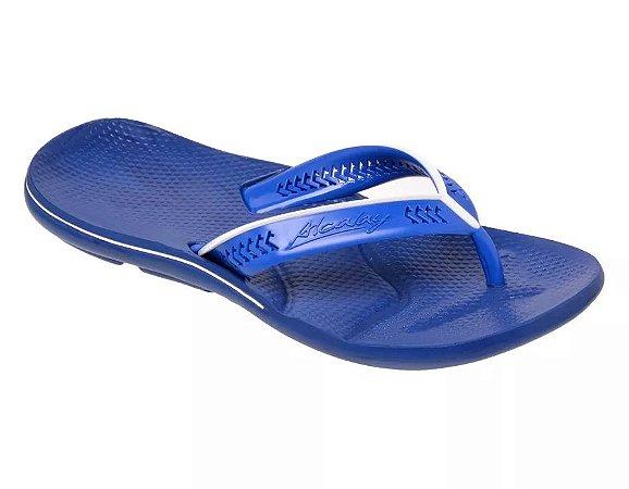 Chinelo Alcalay Azul e Branco