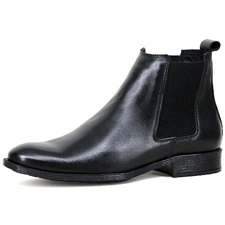 Chelsea Boots Social Liso - Napa Preto