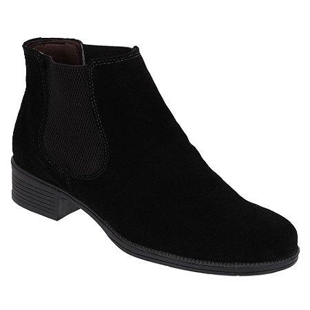 Botina Chelsea Boots Feminina - Preto