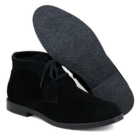 Botina Chelsea Boots Desert - Preto