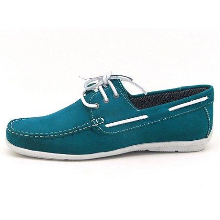 Mocassim dockside masculino Atron Shoes - azul