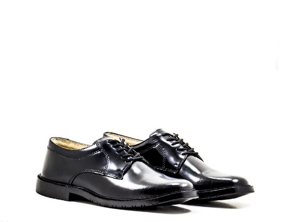 Sapato Social Militar Marinha Preto