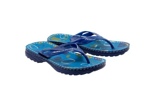Chinelo Alcalay Azul Anti Stress