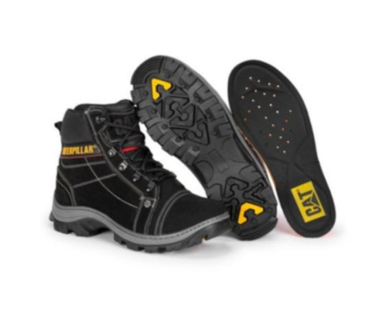 Bota Caterpillar lightning preto