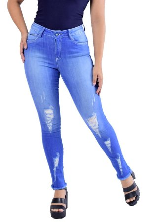 Calça Skinny Pacific Blue