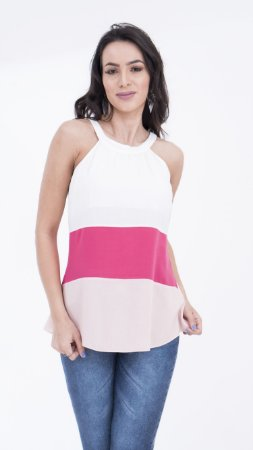 Blusa Color com Laço Costa