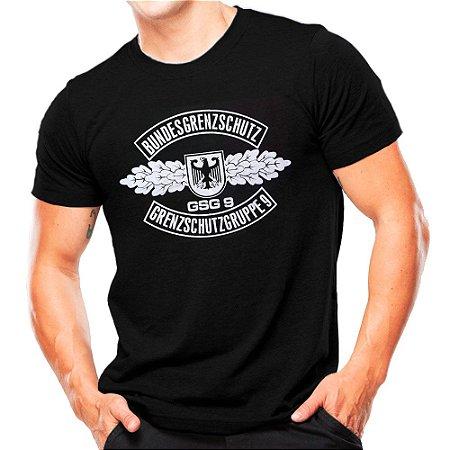 Camiseta Militar Estampada GSG 9
