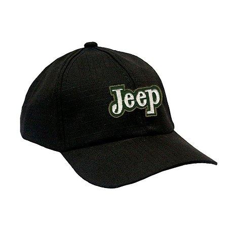 Boné Militar Rip Stop com Patch Aplicado Jeep
