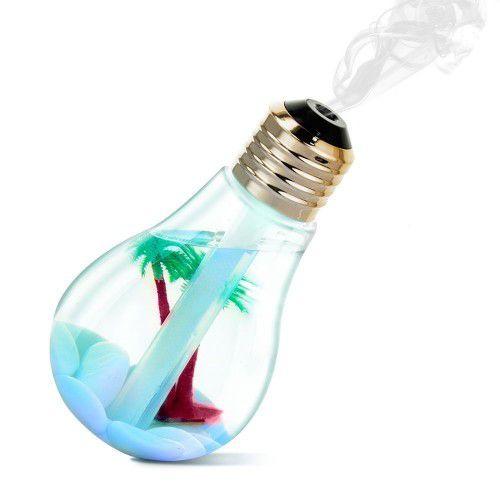 Lâmpada Decorativo com Função de Umidificador de Ambientes
