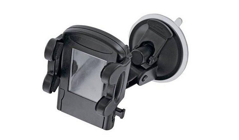 Suporte Preto Universal Veicular Articulado Com Rotação 360°
