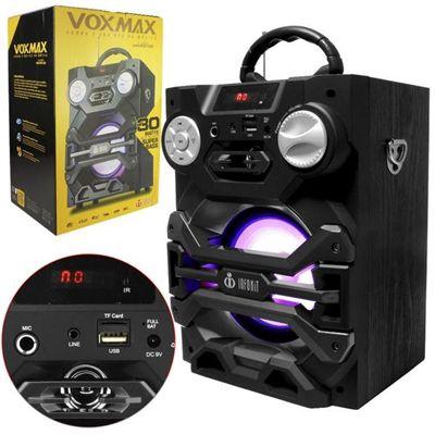 Caixa De Som Bluetooth Maleta Vox Max