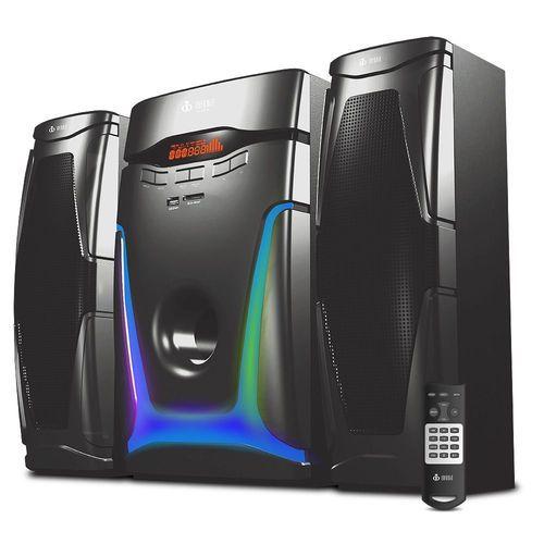 Caixa De Som Speakers 2.1 Bluetooth 70w C Subwoofer Estéreo