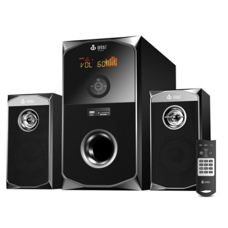 Caixa De Som Speakers 2.1 Bluetooth 60w