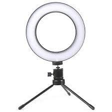 ILUMINADOR RING LIGHT 6 cm (6,5 polegadas)