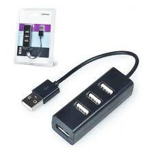 USB 2.0 HUB 4 portas portátil Slim 480mbps