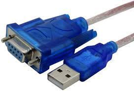 Cabo Conversor USB Para Porta Serial RS232