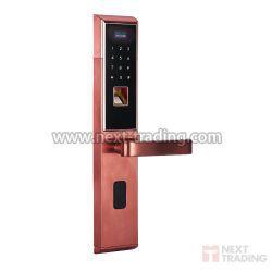 Fechadura Biométrica E Digital 3 em 1 bloqueio eletrônico Bronze