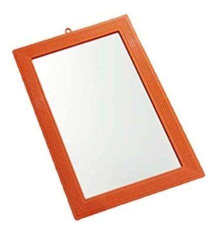 Espelho de Parede Bordas de Plástico 16 x 23,5 cm