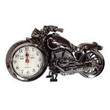 Relógio De Mesa Despertador Decorativo Em Forma De Moto
