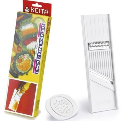 Cortador Fatiador de Legumes Keita CD01 Dupla Face