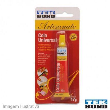 Cola Universal 17g Artesanato Tekbond