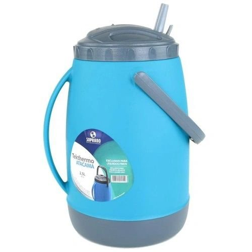 Garrafa Térmica 2,5 L Azul Soprano